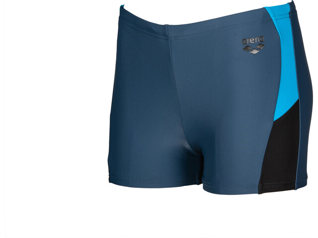 arena Ren Shorts Boys shark/black/turquoise